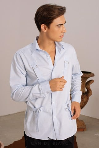 Blue Buckle Shirt