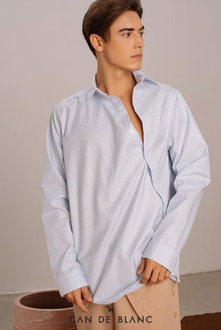 Skew Placket Shirt