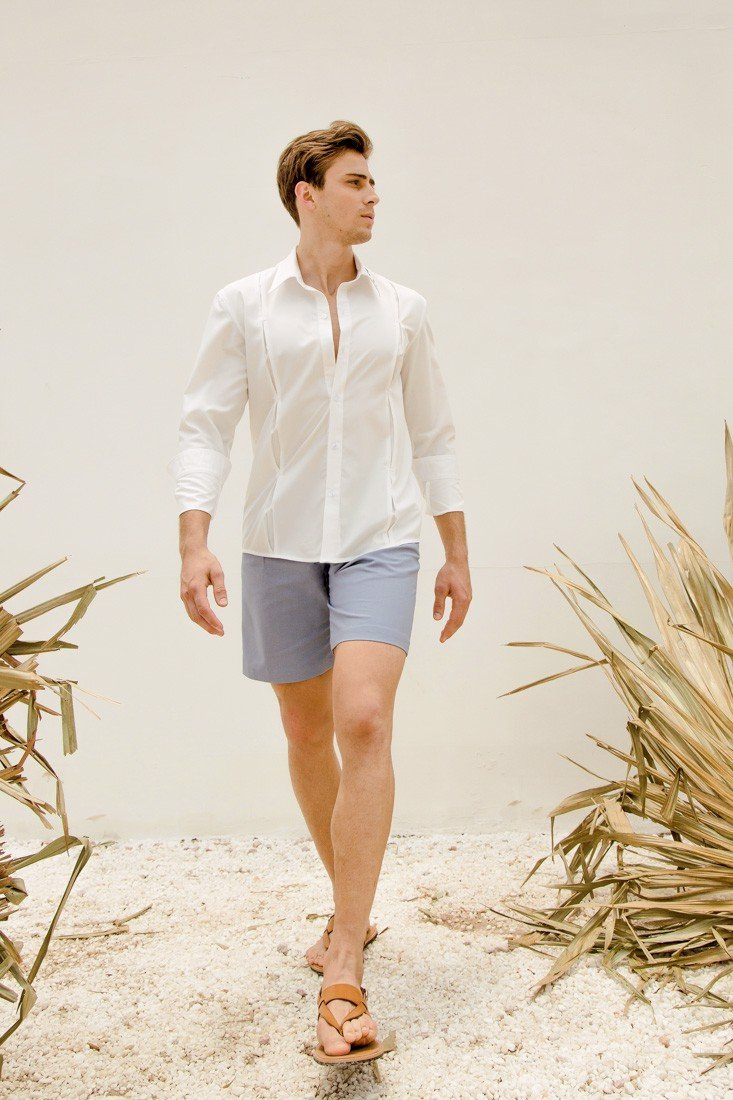 Light Blue Short
