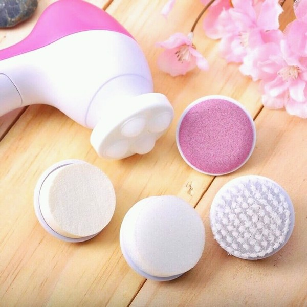 Máy Massage Mặt 5 in 1 beauty care massager