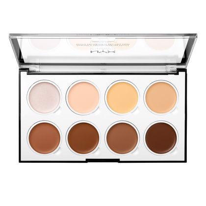 Set HIGHLIGHT & CONTOUR CREAM PRO PALETTE
