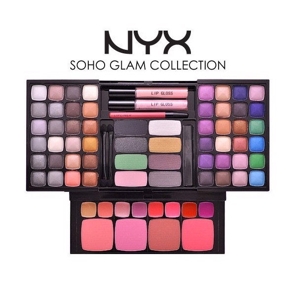 Bộ Nyx Makeup Set Soho Glam Collection