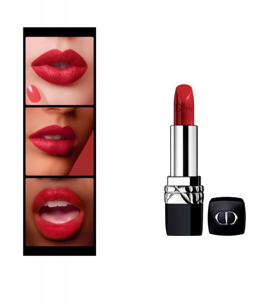 Son Dior Rouge 743 Rouge Zinnia