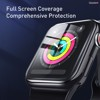 Kính cường lực dẽo Full viền 5 lớp chống trầy cho Apple Watch Baseus Full-Screen 3D Curved Tempered Glass ( 0.2mm, Soft Screen Protector for Apple Watch Series 1/2/3/4/5)