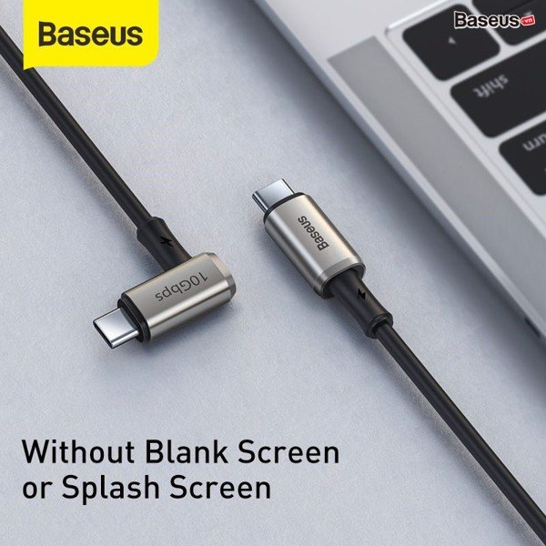 Cáp sạc nhanh siêu bền C to C 100W Baseus Hammer Gen2 Type-C Cable  (20V/5A, 4K60Hz Video Support, Power Delivery 3.1, QC3.0 Quick Charge Cable)