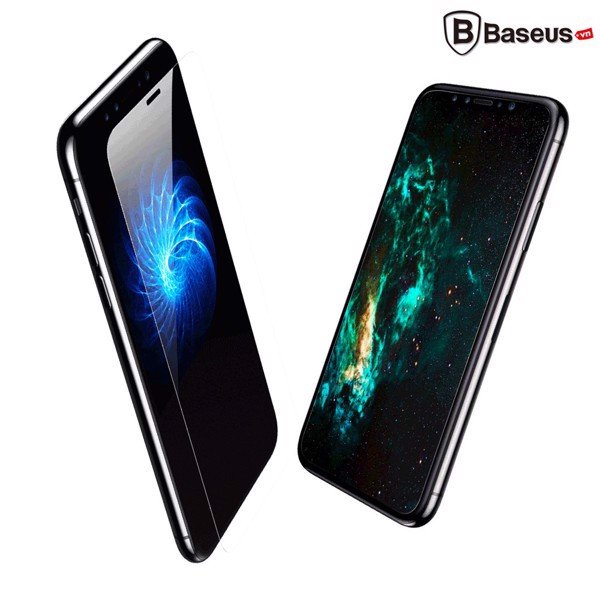 Kính cường lực siêu mỏng Baseus All Glass Material LV301 dùng cho iphone  XR/ XS/ XS Max (0.15mm, Full-glass Tempered Glass Film)