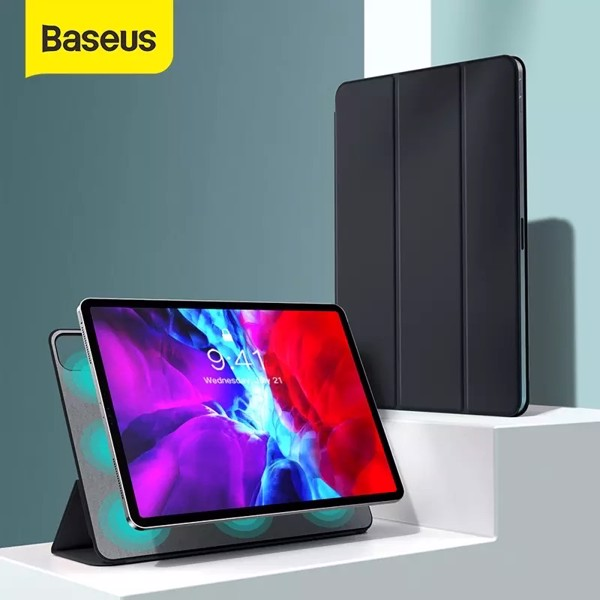 Bao da nam châm Baseus Simplism Magnetic Leather Case dùng cho iPad Pro 2020 (11 inch / 12.9 inch, Magnetic Smart Case)