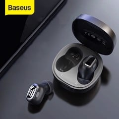 Tai nghe Bluetooth Baseus Encok True Wireless Earphones WM01 (TWS, Bluetooth 5.0, Stereo Earbuds, Touch Control, Noise Cancelling)