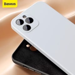 Ốp lưng chống bám bẩn cho iPhone 12 Series Baseus Liquid Silica Gel Protective Case (New Generation Silicone, Dirt Prevention Case)