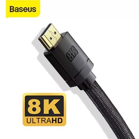 Cáp HDMI 2.1 8K cao cấp Baseus High Definition Series (HDMI to HDMI Cable , 8K Video Adapter Cable)