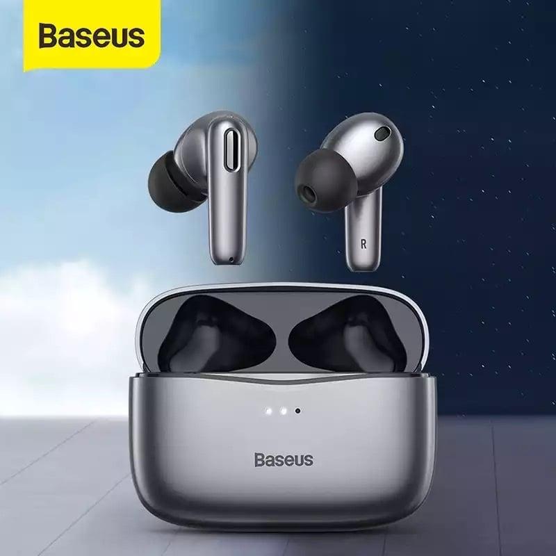 Tai nghe chống ồn chủ động Baseus SIMU ANC S2 (Chống ồn chủ động, Xuyên Âm, Hi Fi/ Stereo, AAC/SBS, Dual Core DSP, True Wireless Earphones)