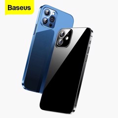 Ốp lưng trong suốt Baseus Simple Case dùng cho iPhone 12 Series (Ultra Slim, High Transparent, Soft TPU Silicone)