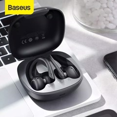 Tai nghe thể thao không dây Baseus Encok True Wireless Earphones W17 ( Bluetooth 5.0 , IP55 Waterproof, 5 - 30h sử dụng, Wireless Charging )