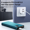 Pin dự phòng sạc nhanh Baseus Adaman Metal Digital Display Quick Charge 22.5W 20000mAh (QC3.0/ PD3.0/ SCP/ AFC Quick charge Power Bank)