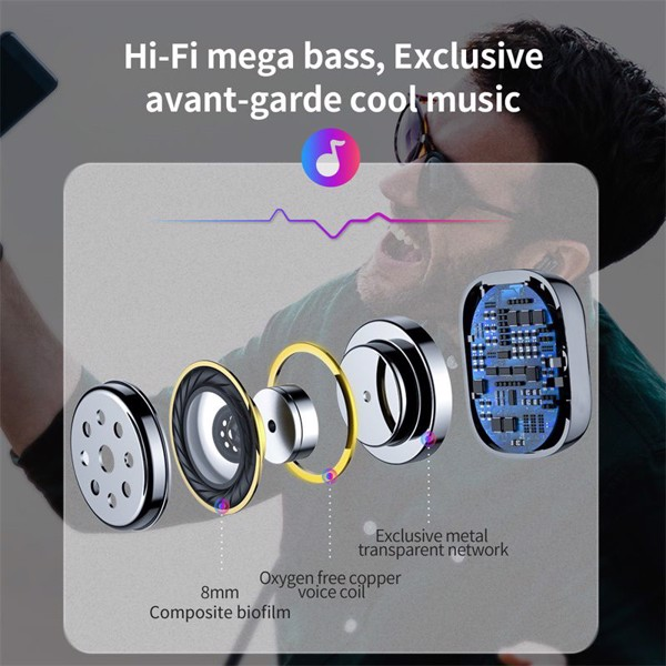 Tai nghe Bluetooth Baseus Encok Wireless Earphone A03 (Bluetooth V5.0, Voice Assitant, Charging Case, Waterproof)