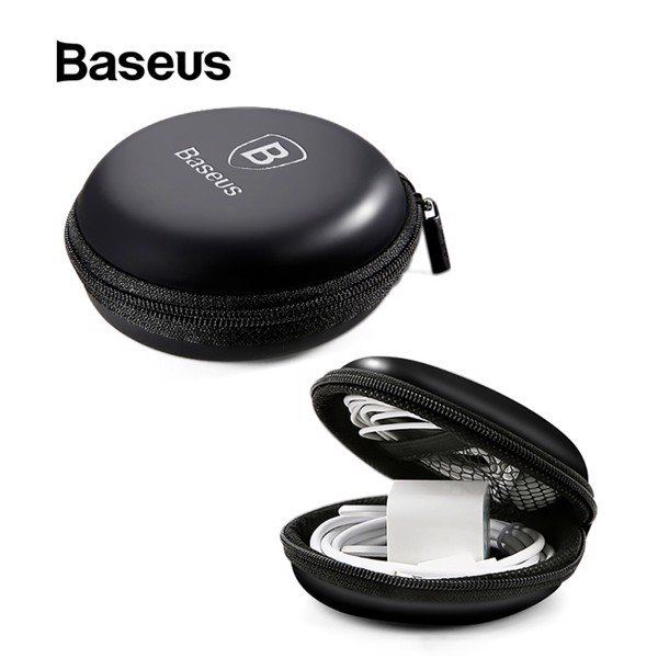 Túi đựng tai nghe và phụ kiện mini Baseus Eva Earphone Bag LV600 (Portable Earphone Case, Mini Bag With Zipper)