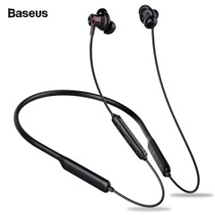 Tai nghe Bluetooth thể thao Baseus Encok S12 (IP5X, Waterproof, Bluetooth 5.0 Neckband Earphone)