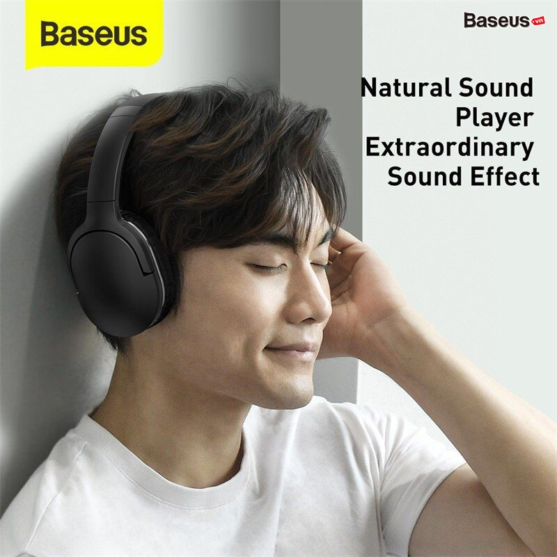 Tai nghe chụp tai không dây cao cấp Baseus Encok Wireless headphone D02 Pro (Bluetooth 5.0, Wireless Hifi Surround Headphone)
