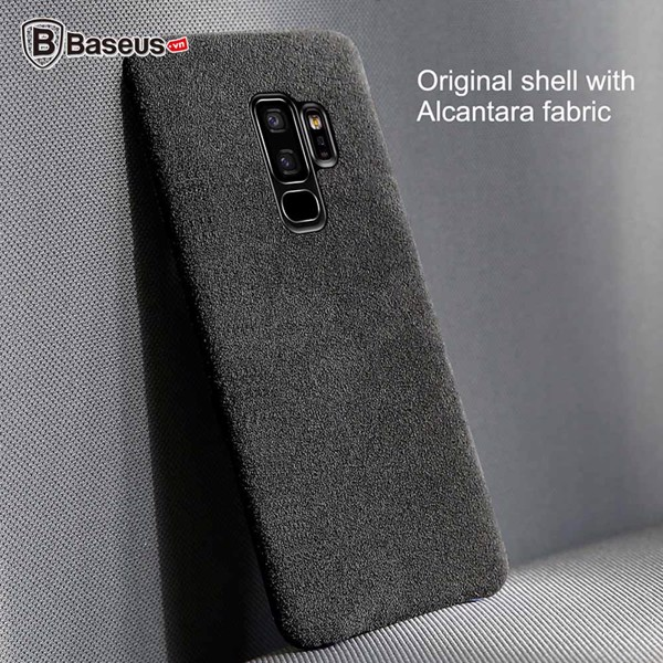 Ốp lưng Silicone chống sốc Baseus Original cho Samsung Galaxy S9 / S9+ (Anti-Knock & Anti Drop & Dirt-Resistant)