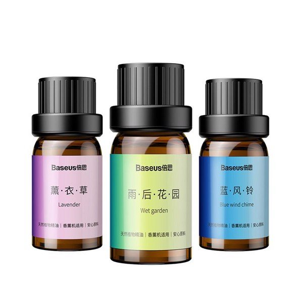 Tinh dầu thiên nhiên Baseus Beauty Sweet Essential Oil (3*10ml, Beauty and Healthy, used with essential oil diffuser)