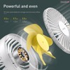 Quạt mini cầm tay pin sạc Baseus Bingo Fan ( 3 Level , Rechargeable Mini USB Hand and Desktop Fan)