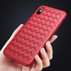 Ốp lưng Silicone dẽo Baseus BV Weaving Case cho iPhone X (Ultra Thin Soft TPU Silicone)