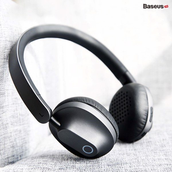 Tai nghe chụp tai không dây Baseus Encok Wireless Headphone D01 (Foldable, Stereo Bluetooth Wireless Headset )