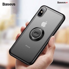 Ốp lưng tích hợp Ring Holder Baseus Dot Bracket Case cho iPhone X/XS/ XR/ XS Max