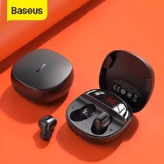 Tai nghe không dây TWS Baseus Encok True Wireless Earphones WM01 Plus (Bluetooth 5.0, Stereo Earbuds, Touch Control, Noise Cancelling)