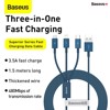 Cáp sạc đa năng Baseus Superior Series Fast Charging Data Cable USB to M+L+C 3.5A