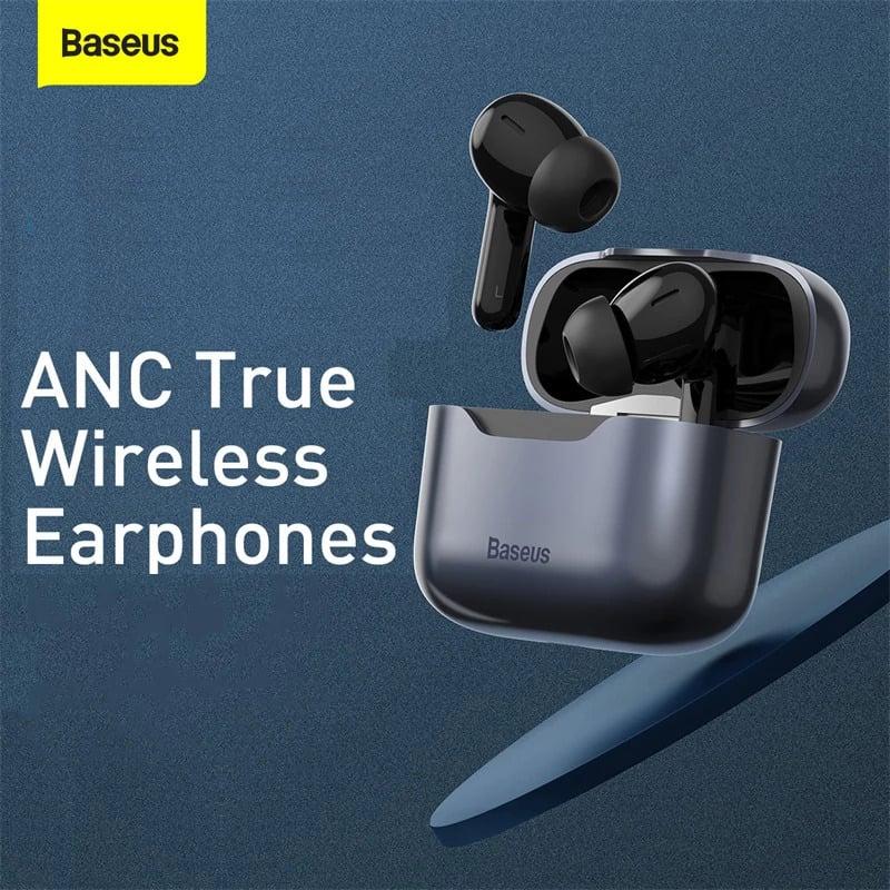 Tai nghe TWS chống ồn chủ động Baseus SIMU ANC S1 / S1 Pro True Wireless Earphone (Chống ồn chủ động, Xuyên Âm, Hi Fi/ Stereo, AAC/SBS, Dual Core DSP)