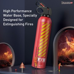 Bình chữa cháy Baseus Fire-fighting Hero Car Fire Extinguisher (1.5m - 2m distance, one-touch spray, not poisionous and harmful)
