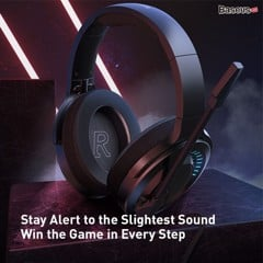 Tai nghe gaming chụp tai dành cho Game thủ Baseus GAMO D05 ( Bongiovi AcousticLaps and Immersive Virtual 3D Game Headphone with microphone)
