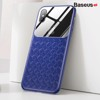 Ốp lưng Silicone - Kính cường lực Baseus Glass Weaving Case cho iPhone XS / XR / XS Max (Tempered Glass + Silicone)