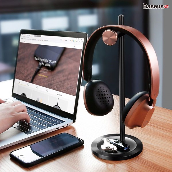Đế treo tai nghe Headphone Baseus Encok Headphone Holder DB01