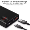 Pin dự phòng sạc nhanh Baseus Mulight PD/QC 3.0 Quick Charger 20,000mAh cho Smartphone/ Tablet/ Macbook (18W, QC 3.0 + PD 3.0 Power Delivery , LED, 2 Port USB + Type C in/out)