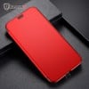 Ốp lưng 2 mặt Baseus Touchable Clear View Case LV177 cho iPhone X (Soft TPU + Hard PC, 360 Full Protective Flip Cases)