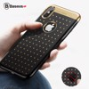 Ốp Lưng Baseus Star Lighting case LV198 cho iPhone X (Plating Soft Silicone Anti Knock ,Dirt-resistant)