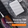Bộ sạc nhanh tích hợp pin dự phòng Baseus Power Station 2in1 10000mAh PD3.0/ QC3.0 (18W Type C and USB Double Quick Charge, Travel Charger & Powerbank)