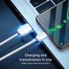 Cáp sạc Type C Baseus Purple Ring HW Super Quick Charging USB Cable cho Huawei/ Samsung/ Xiaomi (40W, 5A , Huawei Super Quick charge)