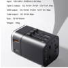 Bộ sạc nhanh du lịch đa năng Baseus Removable 2 in 1 Universal Travel Adapter PPS Quick Charger Edition(18W, Type C PD 3.0/ USB Quick charge 3.0, US/UK/EU/AU/CN)