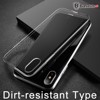 Ốp lưng Silicone trong suốt chống bụi Baseus Simple Case cho iPhone X ( Soft Silicone, Dirt-resistant Case)