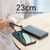 Cáp sạc ngắn Baseus Simple HW Type C 23cm (5A/40W Huawei Super Quick Charge, Sync Data )
