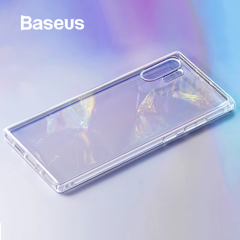 Ốp lưng Silicone chống sốc Baseus Simple Series Clear Case dùng cho Samsung Galaxy Note10/ 10 Plus ( Anti-fall, Transparent Soft TPU Case)