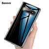 Ốp lưng Silicone trong suốt chống va đập Baseus Simple Case cho Samsung Galaxy S10/ S10 Plus ( Ultra Slim Transparent Soft TPU Silicone)
