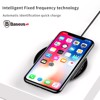 Đế sạc nhanh không dây Baseus Simple Wireless LV252 cho Apple iPhone 8/ iPhone X / Samsung S8/ S9/ Note 8 ( 5W/ 7.5W, Qi Wireless Quick Charger )