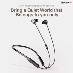 Tai nghe thể thao, chống ồn chủ động Baseus SIMU S15 (Active Noise Reduction, ANC Wireless Sport Earphone)