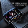 Kính cường lực Full viền 5 lớp chống trầy Baseus Full Screen Curved Tempered Glass dùng cho Apple Watch Series 4 - 40mm/44mm (0.3 mm, 3D, 9H Full Coverage Tempered Glass)