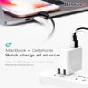 Bộ sạc nhanh đa năng Baseus Transun Series Type-C PD3.0 + USB Quick charger cho Smartphone/ Tablet/ Macbook (3A, 29W, USB + Type C PD Auto Voltage  Travel Charger)