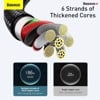 Cáp sạc nhanh Baseus Tungsten Gold Type C Fast Charging Data Cable (6A/ 66W/ 480Mbps, Fast Charge Cable)
